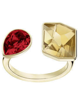 Prisma Ring, Multi-colored, Gold plating