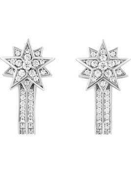Penélope Cruz Moonsun Limited Edition Earring Jackets, White, Rhodium plating