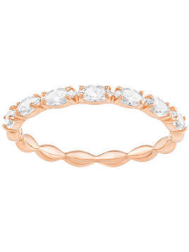 Vittore Marquise Ring, White, Rose Gold Plating