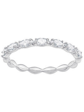 Vittore Marquise Ring, White, Rhodium Plating