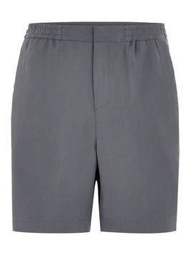 Blue Tencil Shorts With Side Stripe