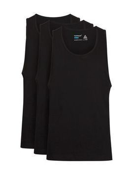 Black Slim Vest Multipack*