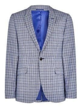 Light Blue Check Jacket