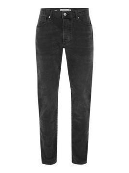 Grey Wash Stretch Slim Jeans