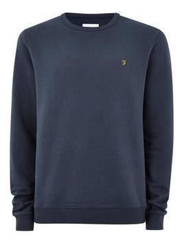 FARAH Blue 'Pickwell' Sweatshirt