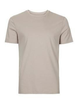 Light Brown Slim Fit T-Shirt