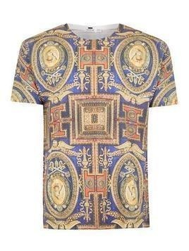 Multi Baroque Print T-Shirt