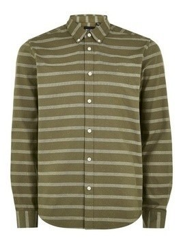 ONLY & SONS Green Long Sleeve Shirt