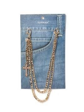 Gold Wallet Chain*