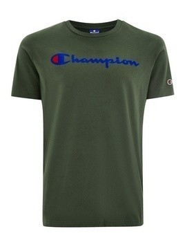 CHAMPION Green 'Corporate' T-Shirt