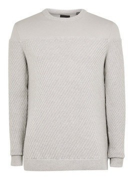 ONLY & SONS Grey 'Levon' Mixed Jumper