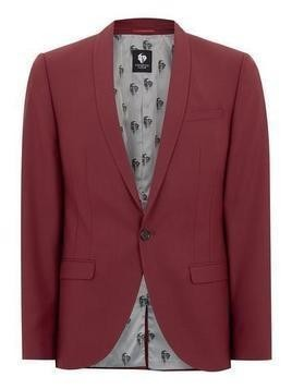 TWISTED TAILOR Red 'Raphael' Blazer
