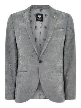 TWISTED TAILOR Grey 'Niagara' Blazer