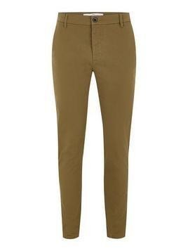 Mustard Stretch Skinny Fit Chinos