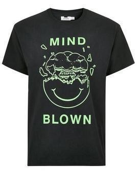 Black 'Mind Blown' T-Shirt