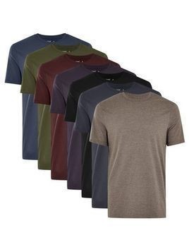Assorted Colour Slim T-Shirt Multipack*