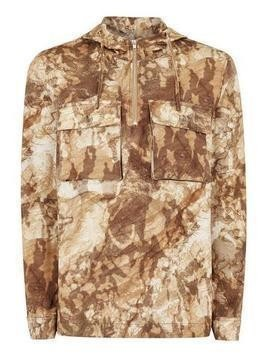 Stone Camouflage Long Sleeve Overshirt