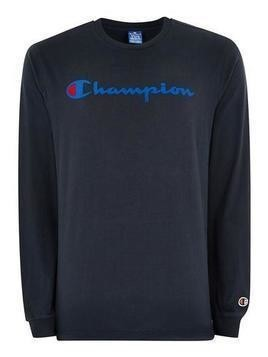 CHAMPION Navy Long Sleeve Top
