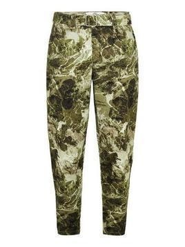 Sand Camouflage Tapered Trousers