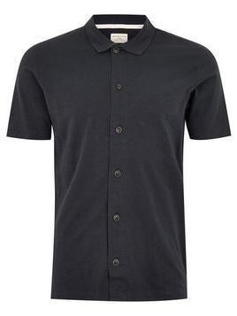 SELECTED HOMME Navy Polo