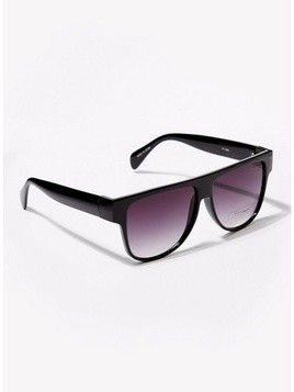 JEEPERS PEEPERS Black Frame Pink Lens Sunglasses*