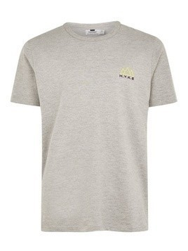Grey Marl 'Hyke' T-Shirt
