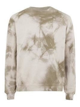 Stone and Brown Wash Sweatshirt