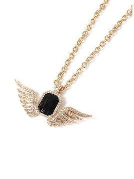 Gold Wing Necklace*