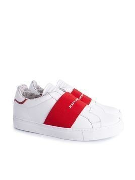 "John Galliano Sneakersy ""Slip-on"""