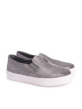 "Liu-Jo Sneakersy ""Slip-On Caffe"""