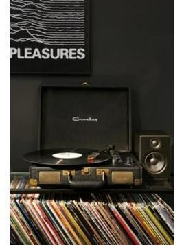 Crosley Cruiser Black and Gold Vinyl Record Player
