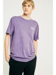 OBEY Death Kiss Dusty Purple T-shirt - Mens L