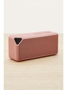 UO Rose Gold Portable Speaker