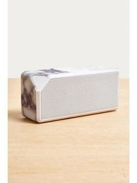 UO White Marble Portable Speaker