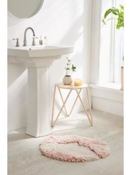 Lila Mixed Shag Bath Mat