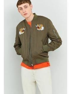 Edwin Military Green Souvenir Jacket - Mens S