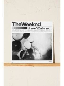 The Weeknd: House Of Balloons Vinyl Record