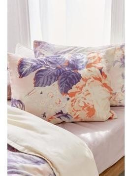 Premium Cabbage Rose Pillowcase Set