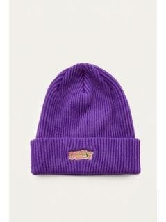 OBEY Ripped Purple Beanie - Mens ALL