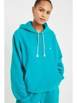 Champion&UO Turquoise Reverse Weave Hoodie - Womens S
