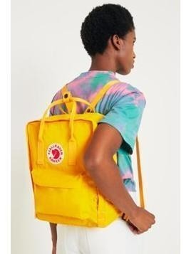 Fjallraven Kanken Classic Warm Yellow Backpack - Womens ALL