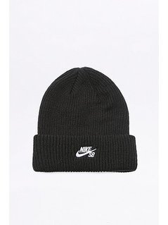 Nike SB Black Fisherman Beanie - Mens ONE SIZE