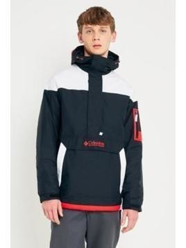Columbia Challenger Black and Red Jacket - Mens M