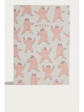 Central 23 Dancing Sloth Notebook