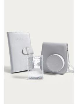 Fujifilm Instax Mini 9 Smokey White Accessory Kit
