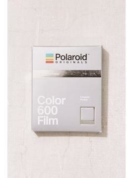 Polaroid Originals Limited Edition Silver Frame 600 Instant Film