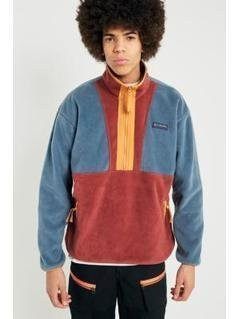 Columbia Originals Rust Fleece Jacket - Mens M