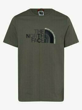 The North Face - T-shirt męski, zielony