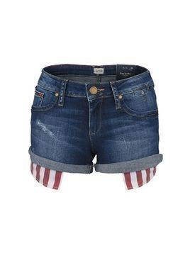 Szorty Tommy Hilfiger Denim Rosie Short Blue