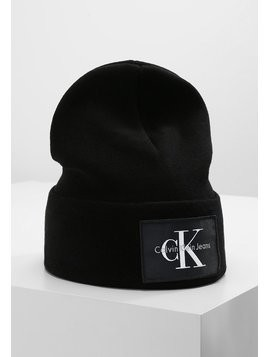 Calvin Klein Jeans RE ISSUE BEANIE  Czapka black